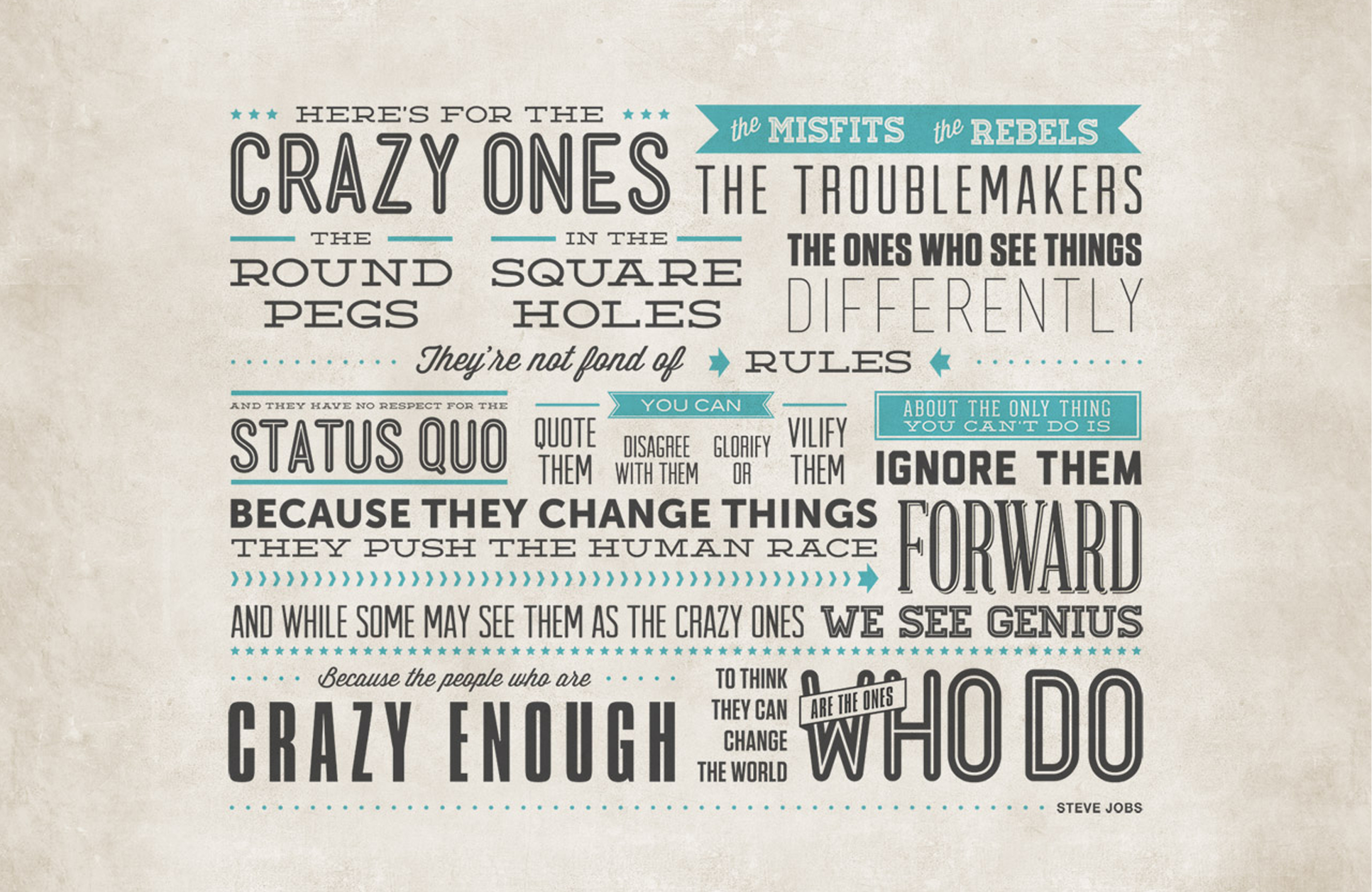 Quote :: Being a Rebel |